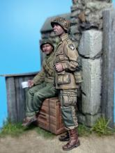 US Paratrooper & Infantry soldier - Normandy 1944  - 2.