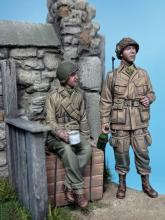 US Paratrooper & Infantry soldier - Normandy 1944  - 4.