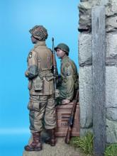US Paratrooper & Infantry soldier - Normandy 1944  - 5.